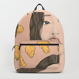GIRL WITH CHICKEN Backpack