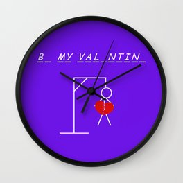 B_ H_r Val_ntin_ W Wall Clock