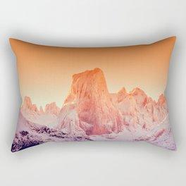 Naranjo de Bulnes at dawn in Picos de Europa National Park, Asturias, Spain Rectangular Pillow