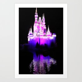 The Castle Waters Art Print