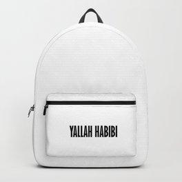 Yallah-Habibi arabic Arabia Backpack