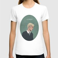 slytherin T-shirts featuring Slytherin by Sara Meseguer