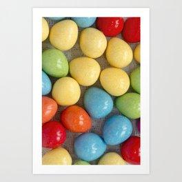 Easter Eggs I Art Print