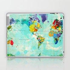 World Map - 8 Laptop & iPad Skin
