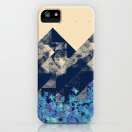 Blue Mountains #society6 #decor #buyart iPhone Case