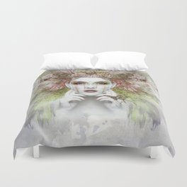 Portrait Duvet Cover