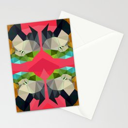 TRIPPY PARROT Stationery Cards