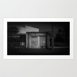The Christchurch Electricity Substation Project XXIV Art Print