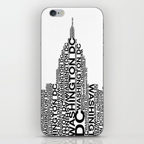 Washington Capitol  iPhone & iPod Skin
