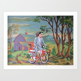 Country Adventure! Art Print