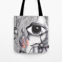 Cyclops Girl  Tote Bag