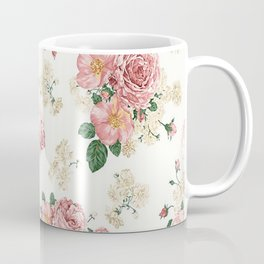 Photography Prop | Backdrop | Roses | Flowers | Floral | Boho Coffee Mug