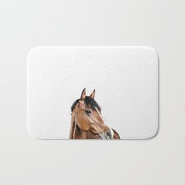 I <3 my horse Bath Mat