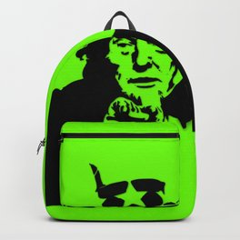 Neon Green Uncle Trump Needs You Backpack