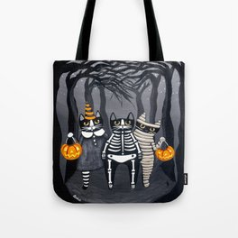 The Trick or Treat Gang Tote Bag