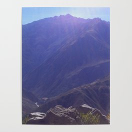 Top of the Rockies Poster