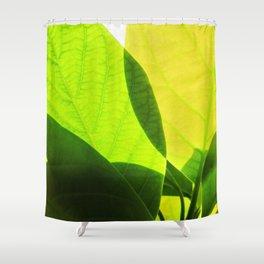 Avocado Leaves Shower Curtain