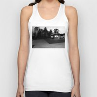 north carolina Tank Tops featuring North Carolina by Mary Francis