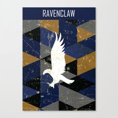 Ravenclaw House Pattern Canvas Print