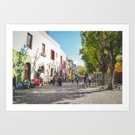 Caminito, Buenos Aires, Argentina Art Print