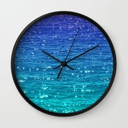 SEA SPARKLE Wall Clock