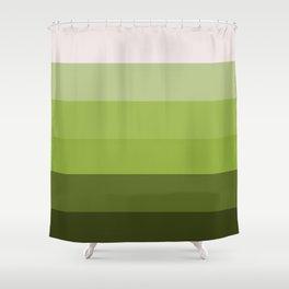 Eggshell Seedling Ombre Shower Curtain
