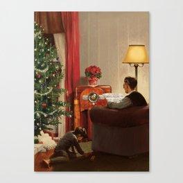 Vintage Christmas Canvas Print
