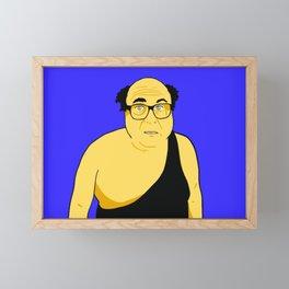 The Trash Man Framed Mini Art Print
