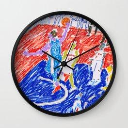 Embiid Wall Clock