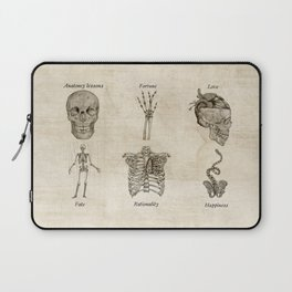 Anatomy lessons Laptop Sleeve
