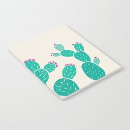 Blooming Prickly Pears Notebook
