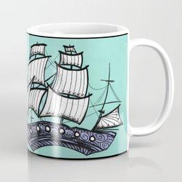 Oh, Ship. We're Going Down Coffee Mug