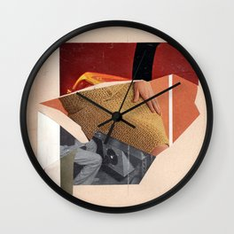 dual beam outposts Wall Clock