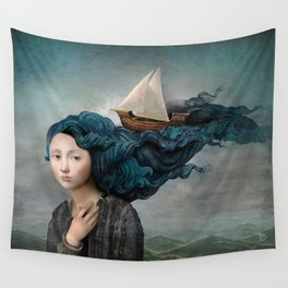 Message from the Sea Wall Tapestry