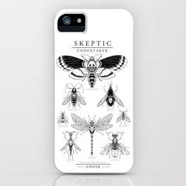 ANOIK Skeptic on Undertaker iPhone Case