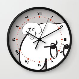 Animal Testing - Really people? Wall Clock