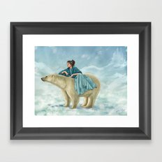 Arctic Queen Framed Art Print