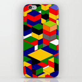 zappwaits squares iPhone Skin