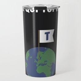 Le monde appartient à ceux qui Topito Travel Mug