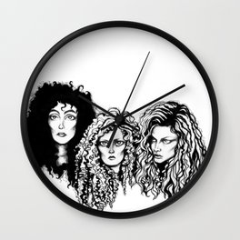 Eastwick  Witches Wall Clock