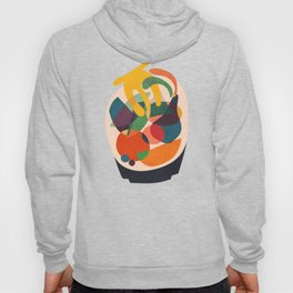 Fruits in wooden bowl Hoody