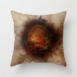 PLANETARY BREAKTHROUGH Throw Pillow