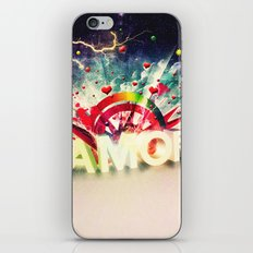 Amor iPhone & iPod Skin