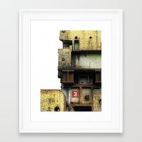 industrial Framed Art Prints featuring Industrial by mimifaktur