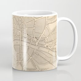 Antique London Map Coffee Mug