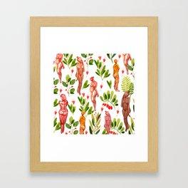 naked plants Framed Art Print