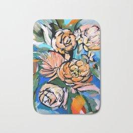 Vibrant Floral Bath Mat