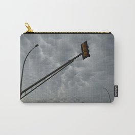 Mammatus Clouds and Stoplights Carry-All Pouch