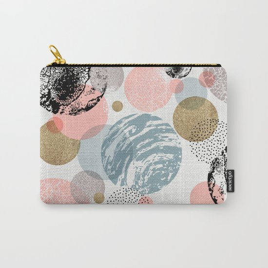 Circles texture Carry-All Pouch