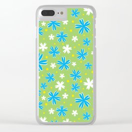Petal Power Clear iPhone Case